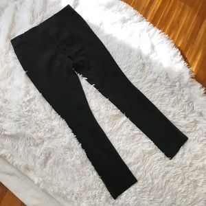 Zara Pants - Zara W&B Collection Faux Leather & Suede Leggings